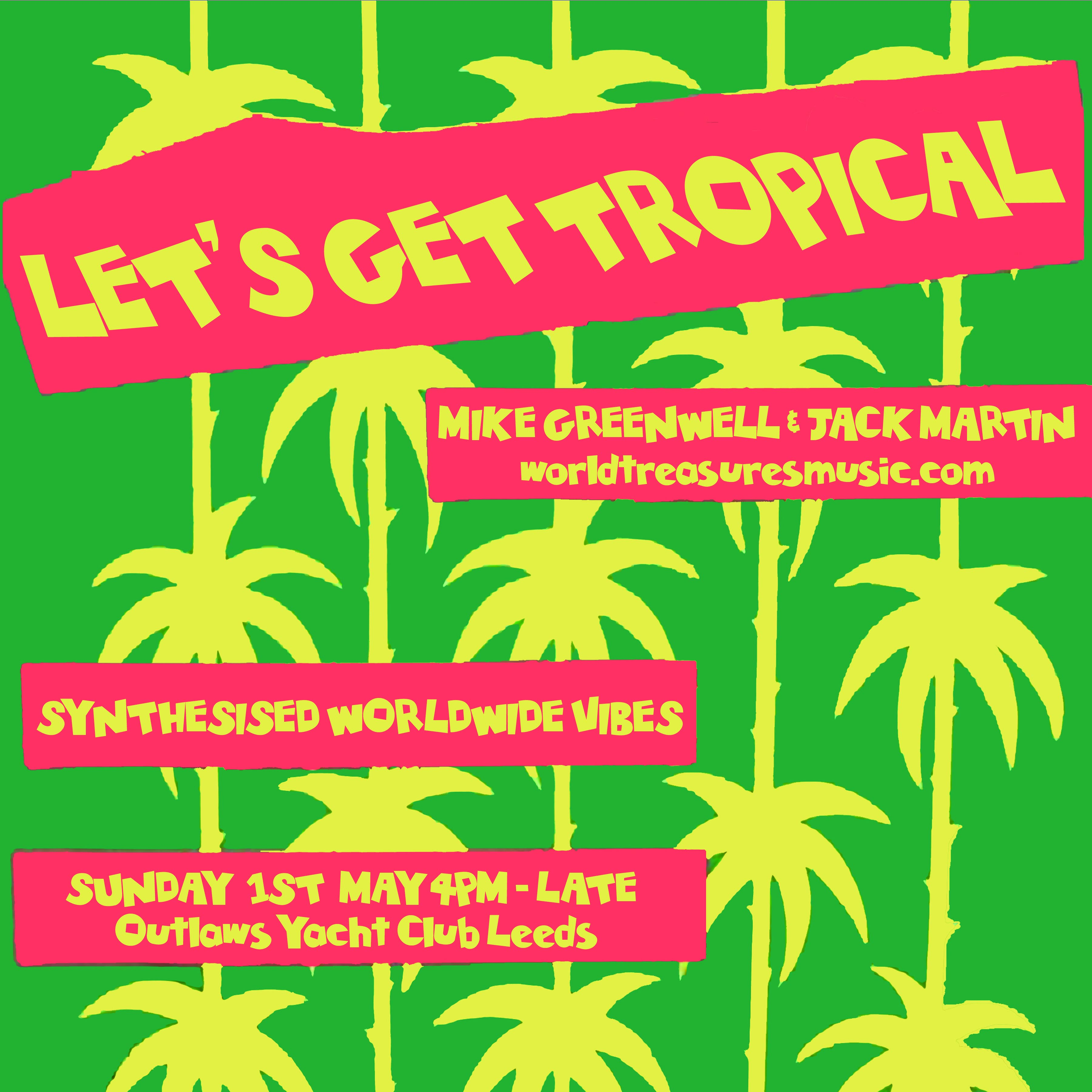 let's get tropical poster invert web site size